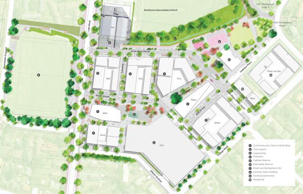 Northcote Town Centre Benchmark Masterplan